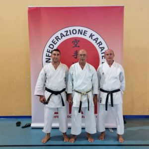 Karate, allo stage Fedika gli atleti milazzesi De Matteo, Calapà e Ciraolo