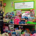 Guardia di finanza sequestra giocattoli vietati a Milazzo in negozio cinese