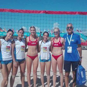 Mondiali beach volley, brave le ragazze milazzesi dell'Impallomeni