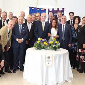 Lions club Milazzo, inaugurato il nuovo anno sociale