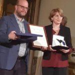 Il giornalista Riccardo Rossi nominato Cavaliere dei Diritti Umani