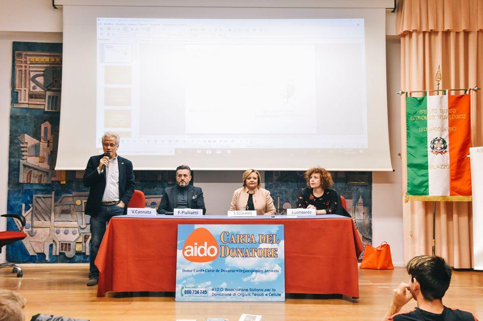 """Giornata dell'Aido """"Alba Munafò"""" al Tecnico """"Da Vinci"""""""