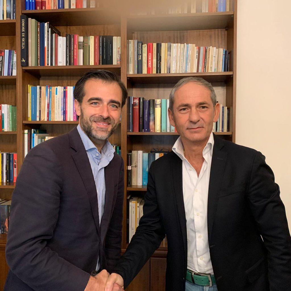 """NASCE IL """"PATTO TRICOLORE"""" NEL CENTRODESTRA, INTESA TRA CATALFAMO E CALDERONE: """"FORZA ITALIA E FRATELLI D'ITALIA INSIEME PER LE AMMINISTRATIVE"""""""