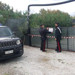 Terme Vigliatore (ME):i Carabinieri sequestrano un'area di 5 mila metri quadrati lottizzata abusivamente per finalità edificatorie