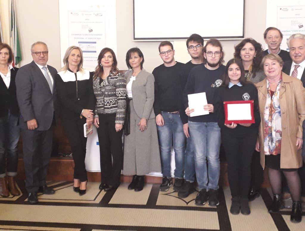 """Premio """"Storie di Alternanza"""", sul podio l'Istituto d'istruzione superiore """"Verona Trento"""" di Messina"""