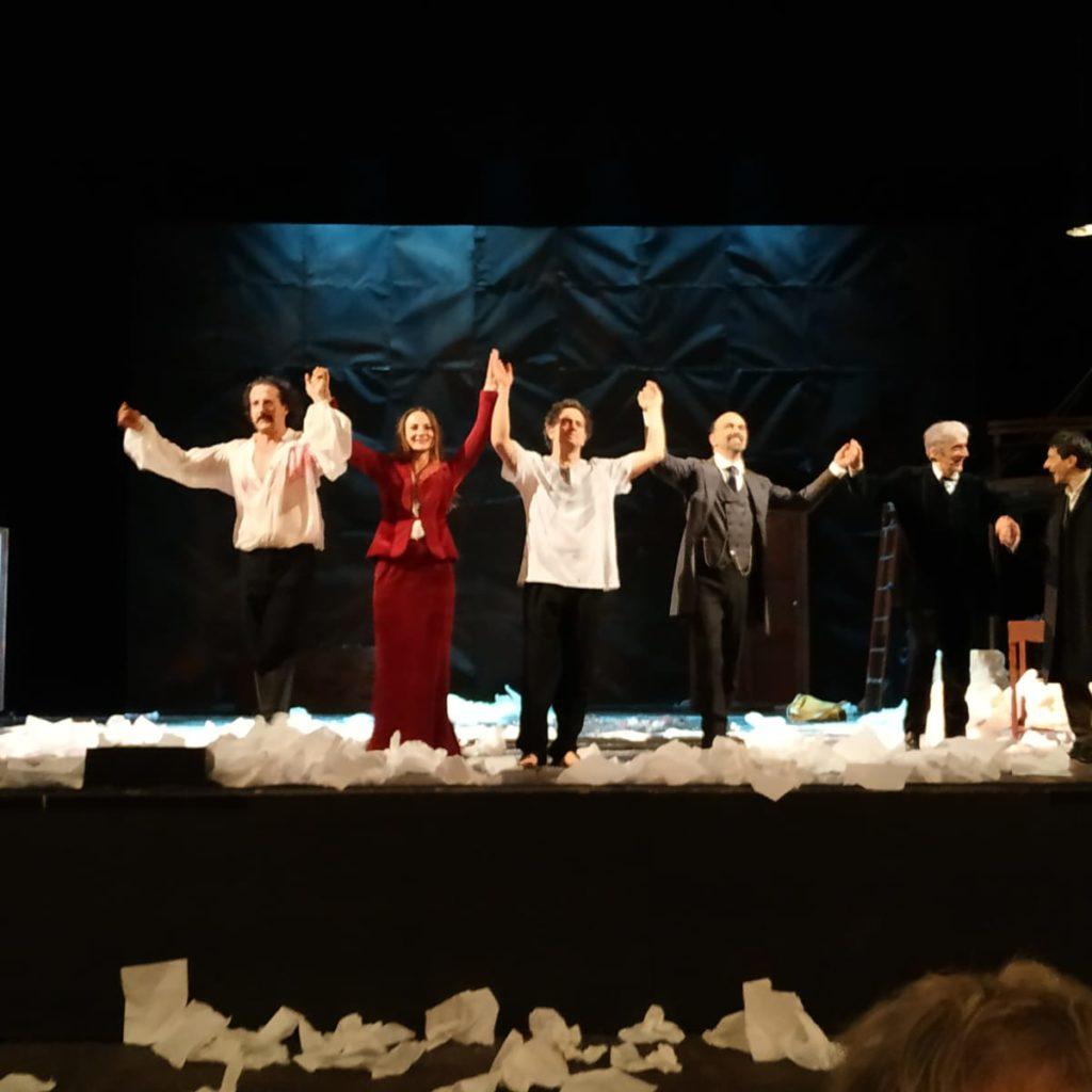 DRACULA al teatro Vittorio Emanuele di Messina, un successo!