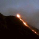 A Stromboli riprende in modo intenso attività esplosiva