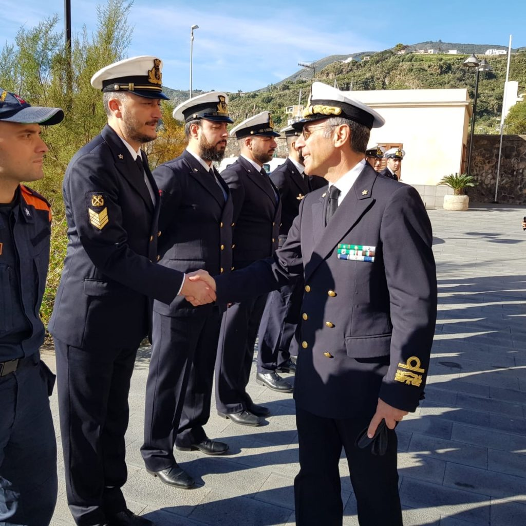 Visita istituzionale del direttore marittimo di Catania presso gli uffici del compartimento marittimo di Milazzo