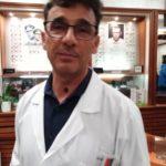 """Carmelo Salmeri, da Milazzo a Torino per """"vederci meglio""""."""