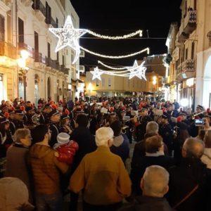 """Milazzo/ Banda """"Pietro Mascagni"""" Città di Milazzo, 11 eventi musicali natalizi per animare la città"""