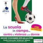 """""""La Scuola in campo… contro la violenza sulle donne"""", iniziativa a Milazzo dell'associazione Aletheia"""