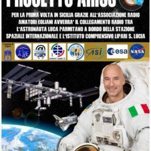 Progetto ARISS – L'Istituto Comprensivo di Lipari (ME) incontra in diretta AUDIO il comandante Luca PARMITANO, in collegamento con la stazione spaziale internazionale.