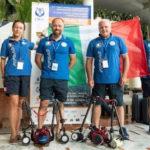 Medaglia d' oro conquistata a Tenerife ai mondiali di fotografia per F. Sesso e A. Pagliaro