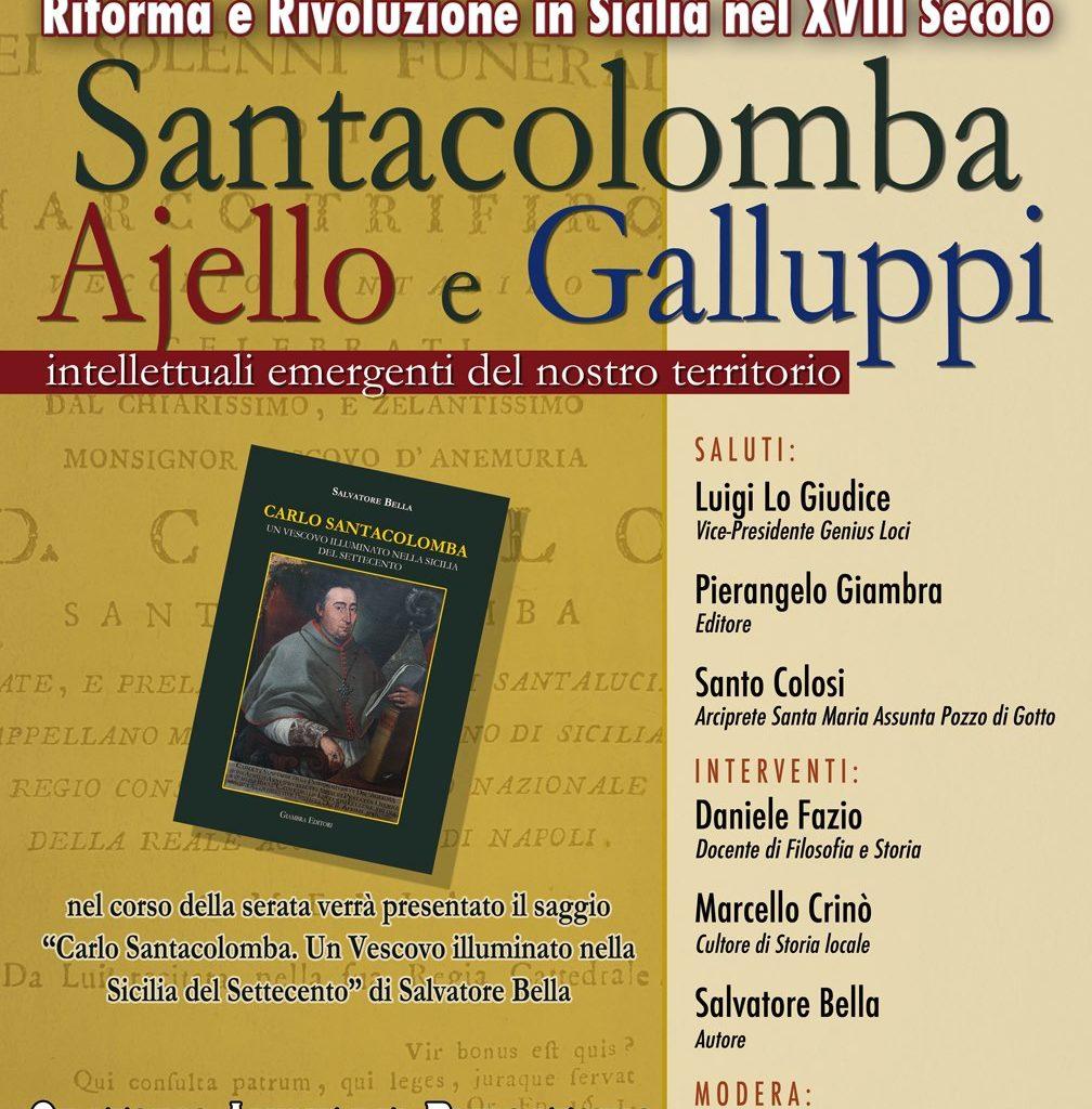 Barcellona/ dibattito su Santacolomba, Ajello e Galluppi