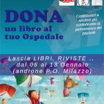 """""""Dona un libro al tuo Ospedale"""", iniziativa a Milazzo"""