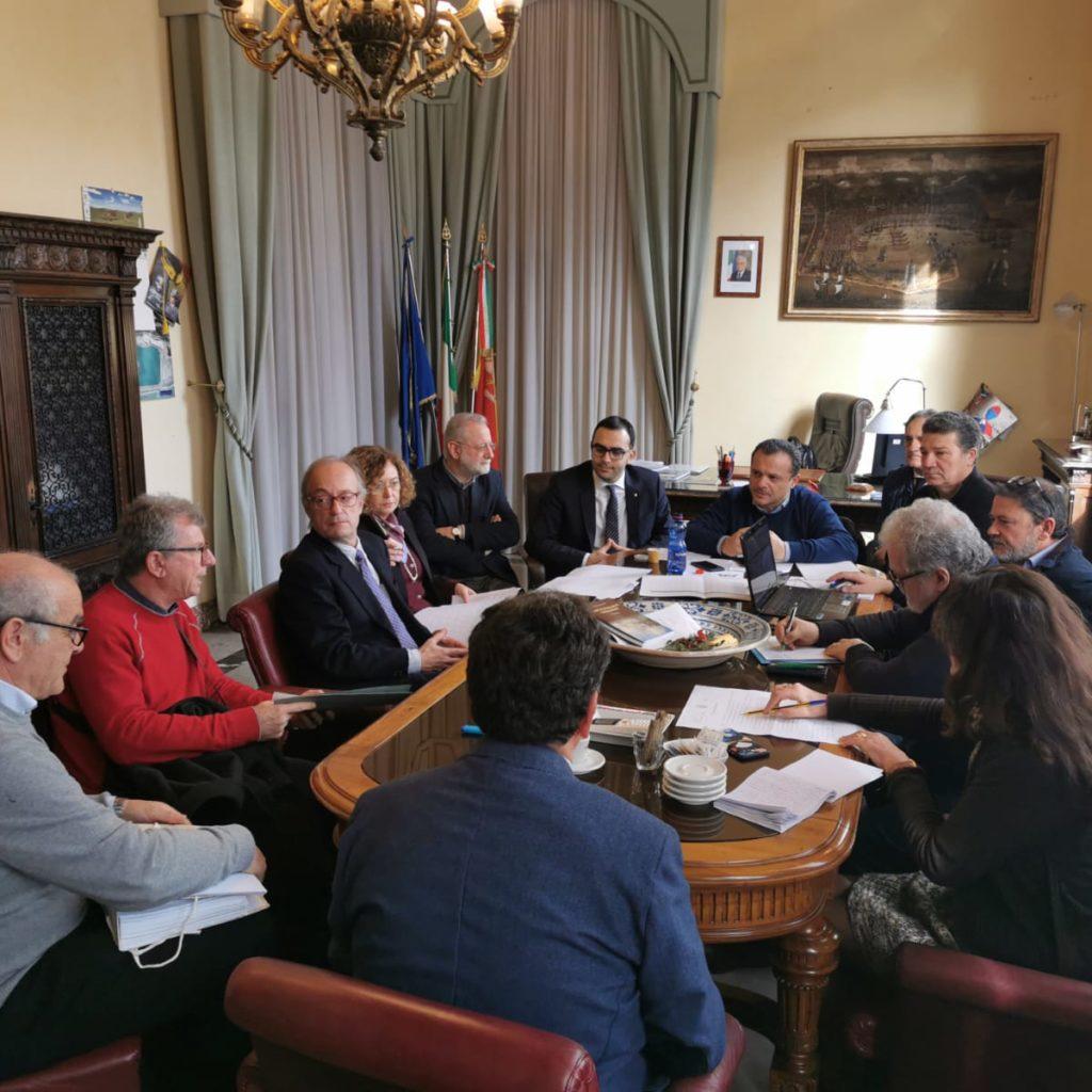 """""""Patto per il Sud"""" riunione operativa a Palazzo dei Leoni"""