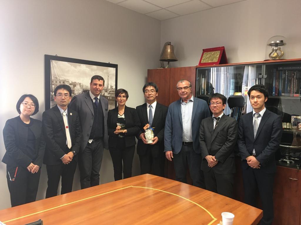 """Delegazione giapponese a Trapani per scoprire i """"segreti"""" di Liberty Lines"""