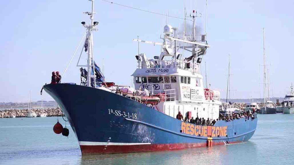 Migranti: nave ong spagnola con 158 a bordo verso Messina