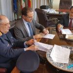 Palazzo dei Leoni, siglato l'accordo per l'espletamento dell'attività di notifica degli avvisi di addebito INPS da parte della Polizia Metropolitana