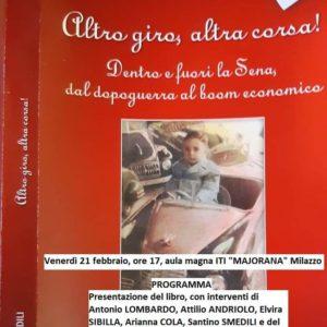 """""""Altro giro, altra corsa"""", il nuovo libro di Santino Smedili"""