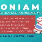 COVID19-Dona ventilatore polmonare  Ospedale Milazzo