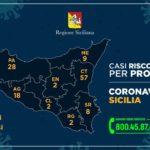 Coronavirus in Sicilia, il contagio cresce i positivi sono 130, i ricoverati sono 44