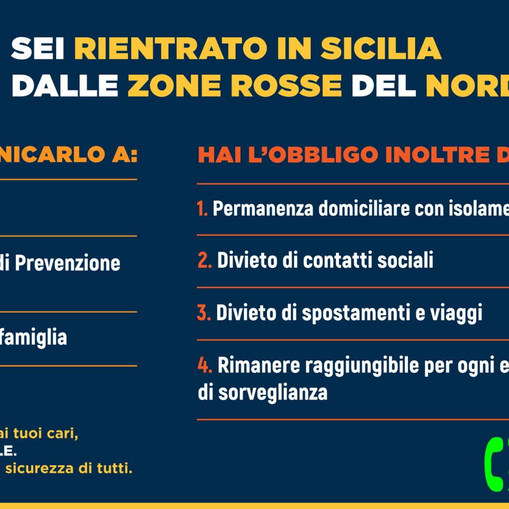 Coronavirus: boom di iscrizioni al portale Sicilia per arrivi da zone a rischio