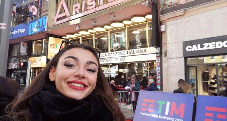 """""""Giada Giordano cantante rappresenta l'Italia al World championship of performing arts in America."""