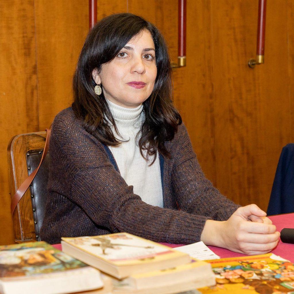 """Nadia Terranova con l'Associazione """"Piccoli Maestri"""" a Roma, c'insegna a fare """"resistenza culturale""""."""