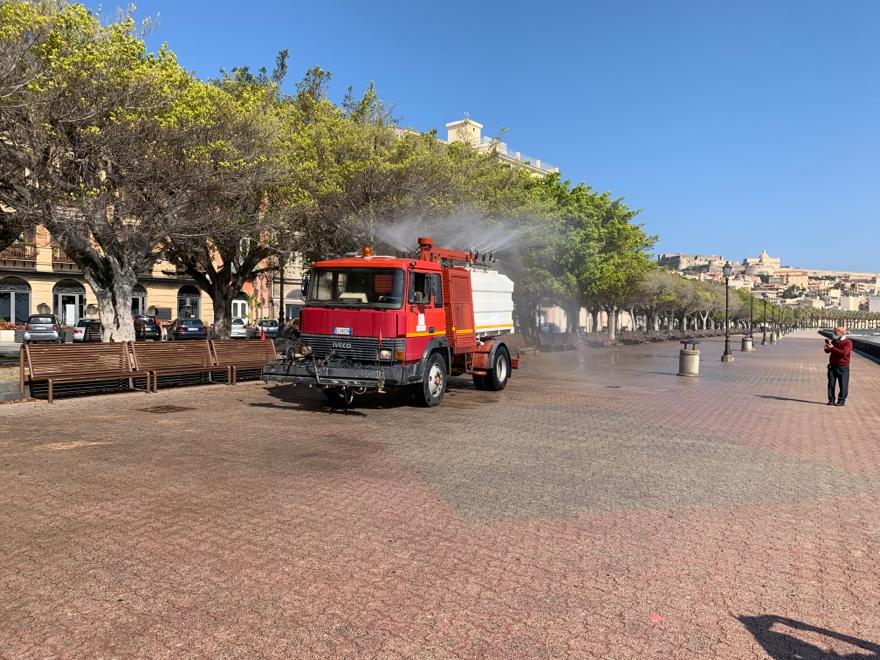 Milazzo/ Sanificazione del territorio comunale con l'uso dell'ozono