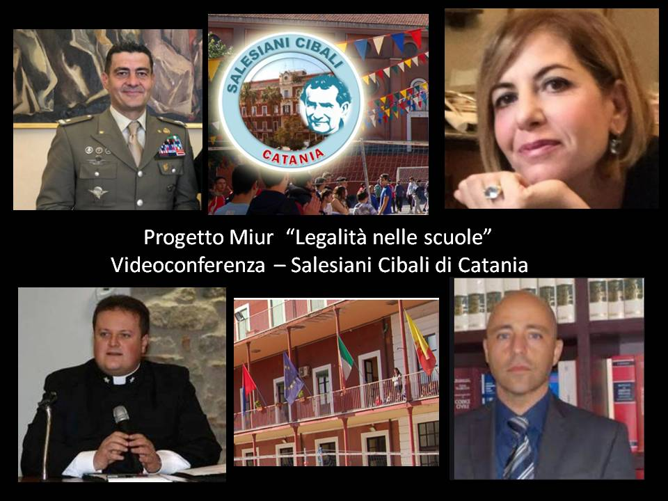 Legalità e cultura per gli studenti dell'Istituto San Francesco di Sales di Catania