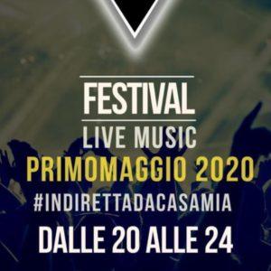 """Dalla Sicilia il Festival Live Music """"Primo Maggio 2020 #indirettadacasamia"""""""