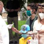Coronavirus, contagi in calo, 303 in 24 ore, l'85%in Lombardia