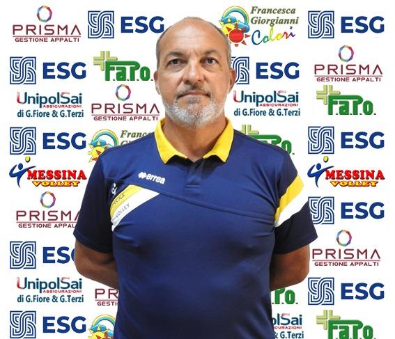 Il Messina Volley affida la panchina della Prima Divisione a Domenico Rizzo