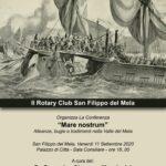 San Filippo del Mela/ Sabato 11 conferenza del Rotary con l'intervento del dottor Domenico Muscianisi