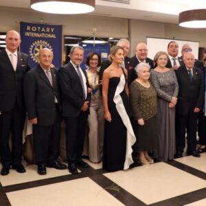 Il Rotary Club Milazzo, presieduto da Maria Torre, festeggia il 60' anno di fondazione