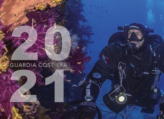 """Presentato a Roma il nuovo """"Calendario della Guardia Costiera 2021"""""""""""